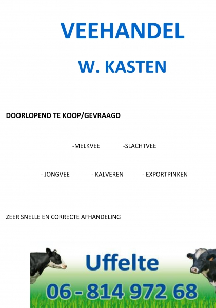 Veehandel W. Kasten